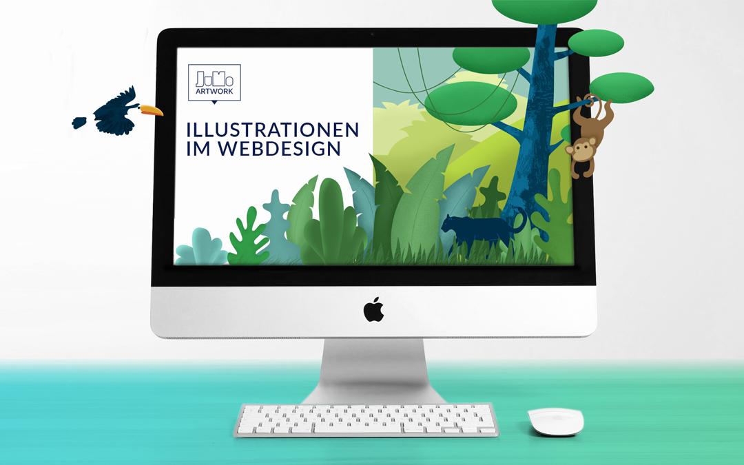 11 Gründe, warum Illustrationen im Webdesign besser punkten