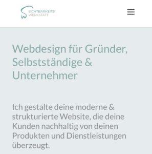Mobile first – Die Usability deiner Website auf mobilen Endgeräten