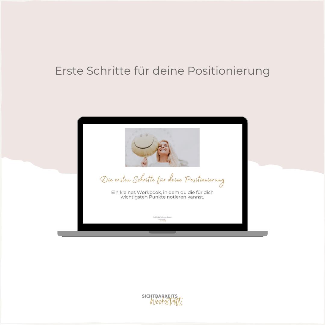 Mini-Workbook Positionierung